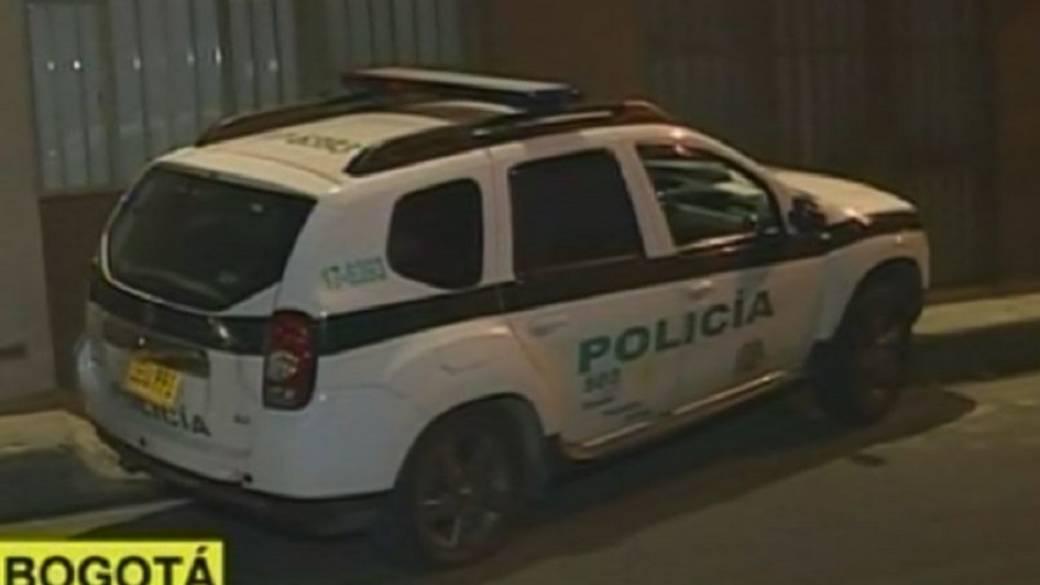 Patrulla de Policía robada y estrellada