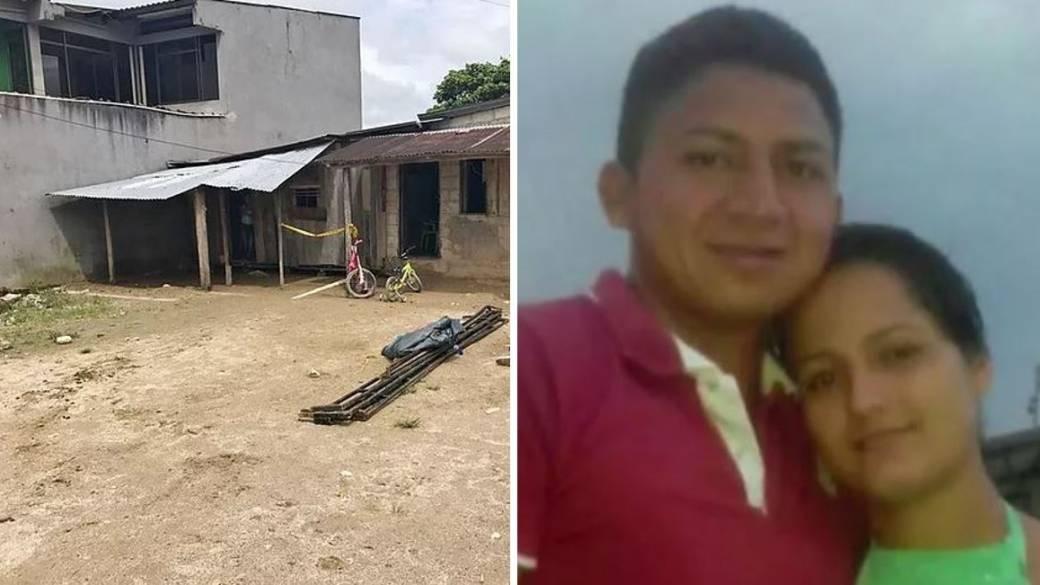 En esta vivienda fueron asesinados María Teresa Vallejo y su esposo Florentino Hernández