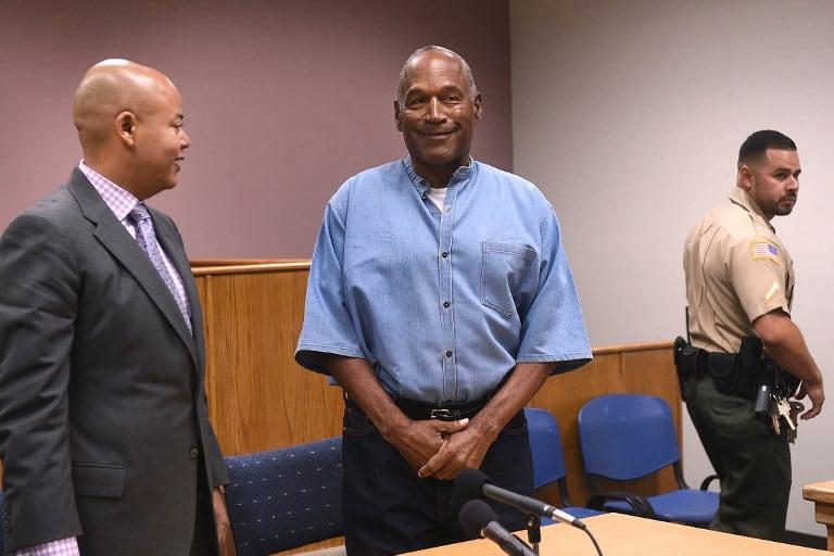 O.J. Simpson en audiencia en la que le concedieron la libertad condicional. Pulzo.com