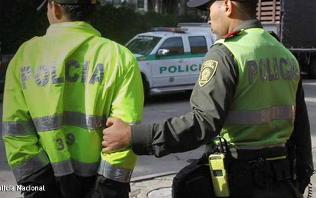 Policía capturado. Imagen de referencia