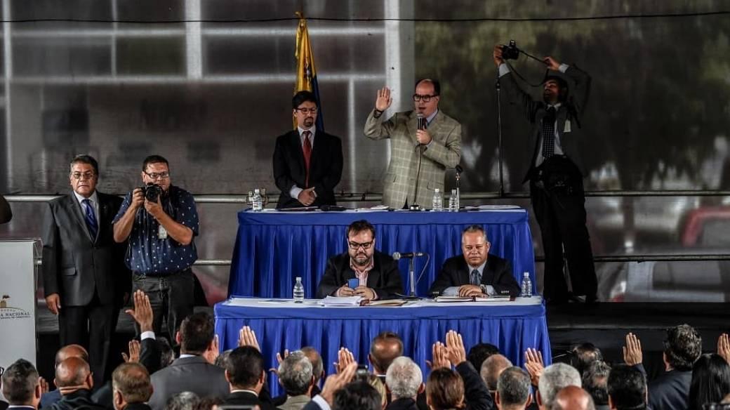 Magistrados venezolanos
