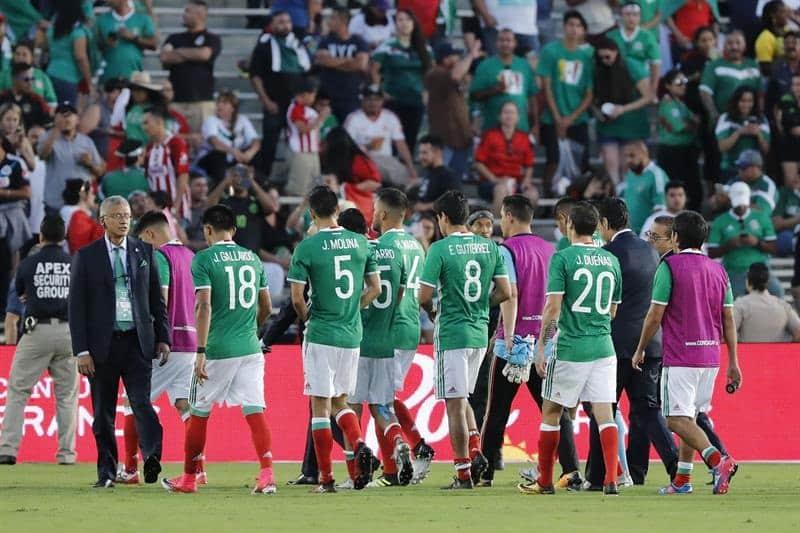 Derrota de México ante Jamaica en Copa de Oro 2017