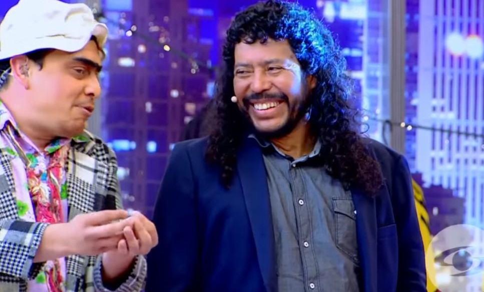 Suso y René Higuita