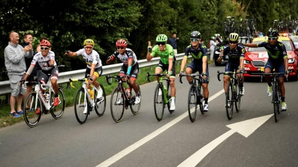 Colombianos en Tour de Francia