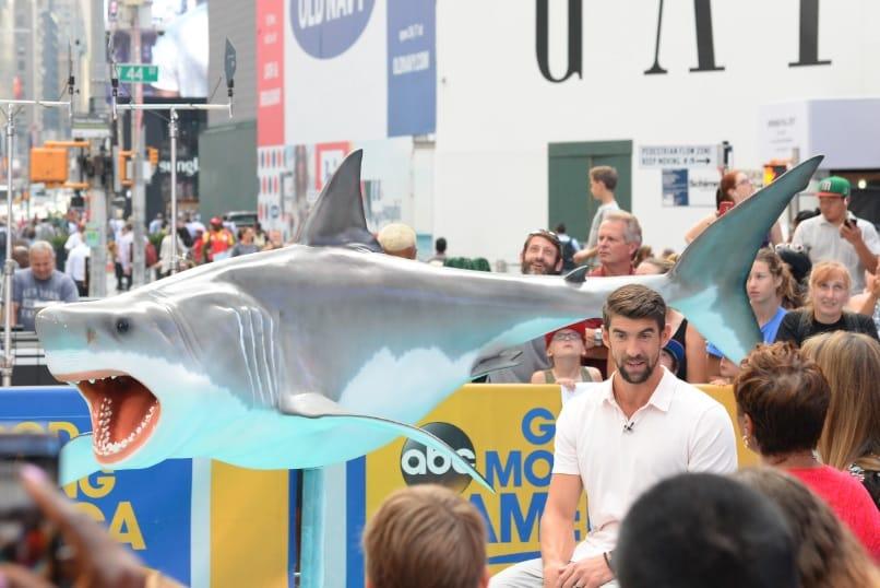 Michael Phelps vs. Tiburón