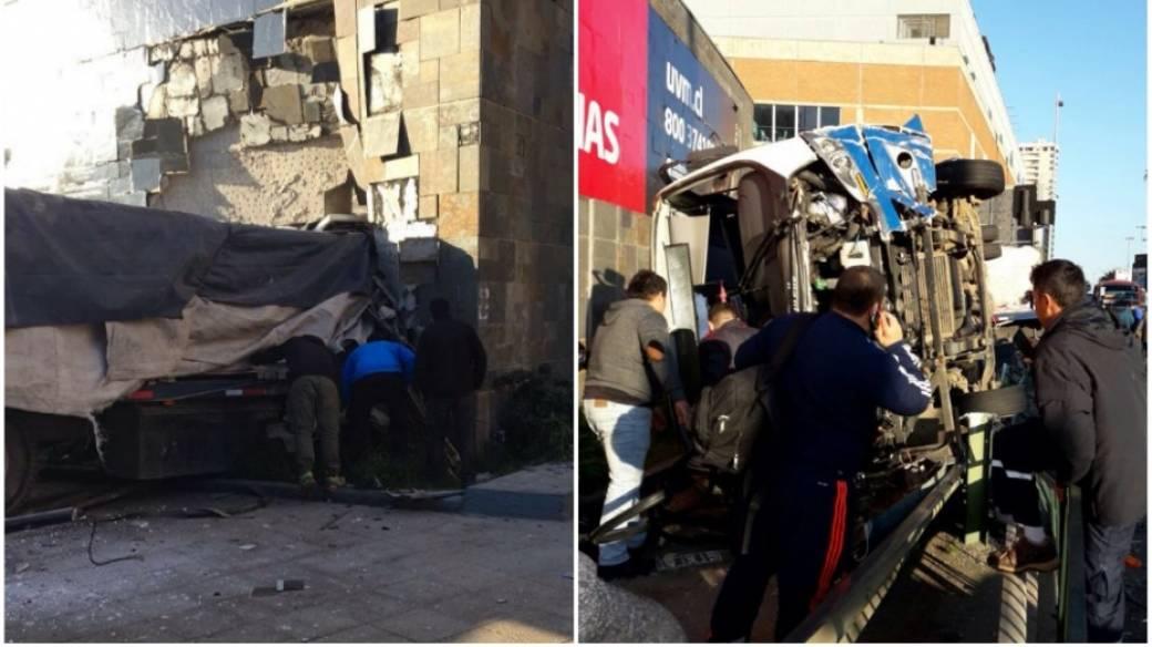 Accidente en Chile.