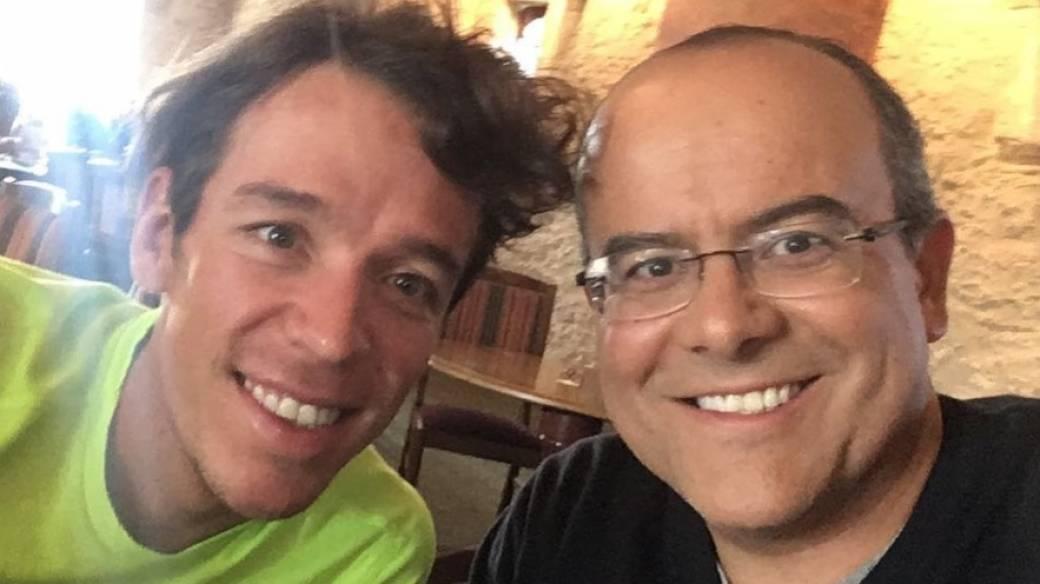 Ricardo Orrego y Rigoberto Urán