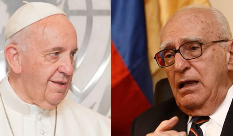 Papa Francisco y José  Galat
