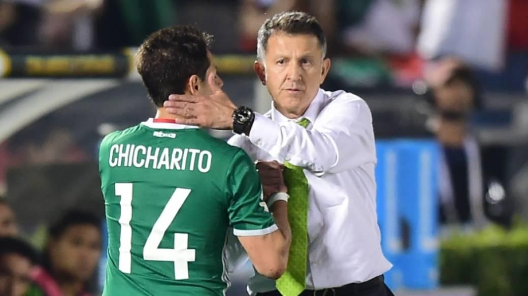 'Chicharito' y Osorio