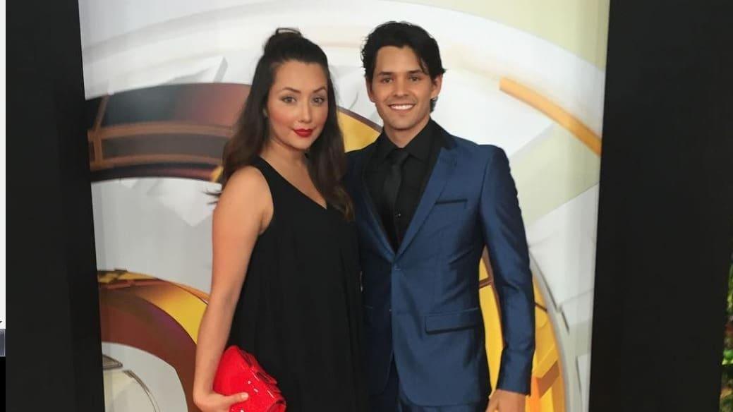 Diana Neira y su esposo Ricardo Abarca, actores.