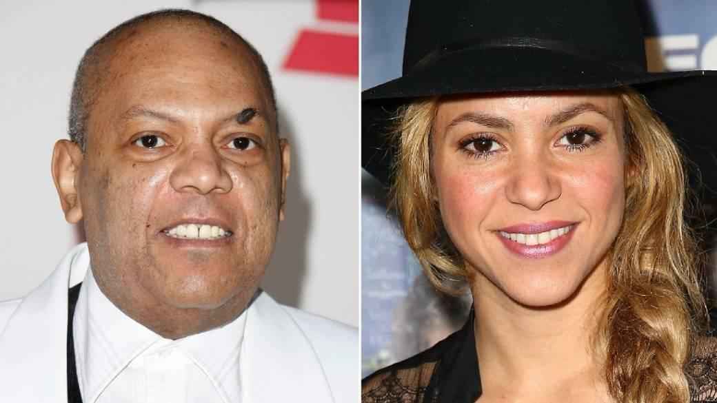 Joe Arroyo (Q.E.P.D.) y Shakira, cantantes.