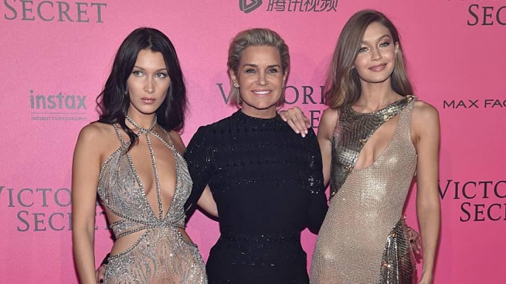 Yolanda Hadid, Bella Hadid y Gigi Hadid