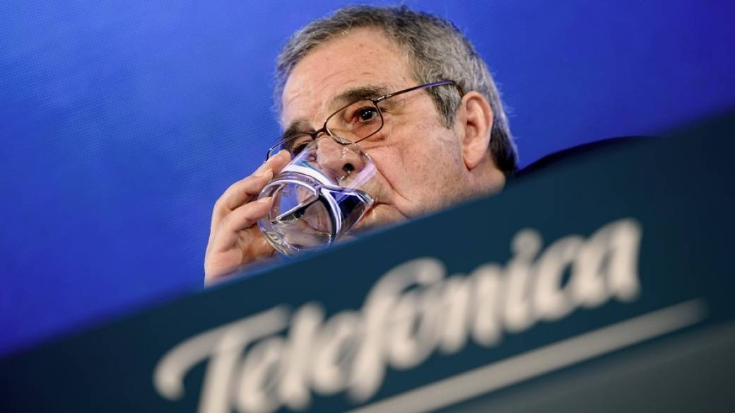 César Alierta, CEO de Telefónica.