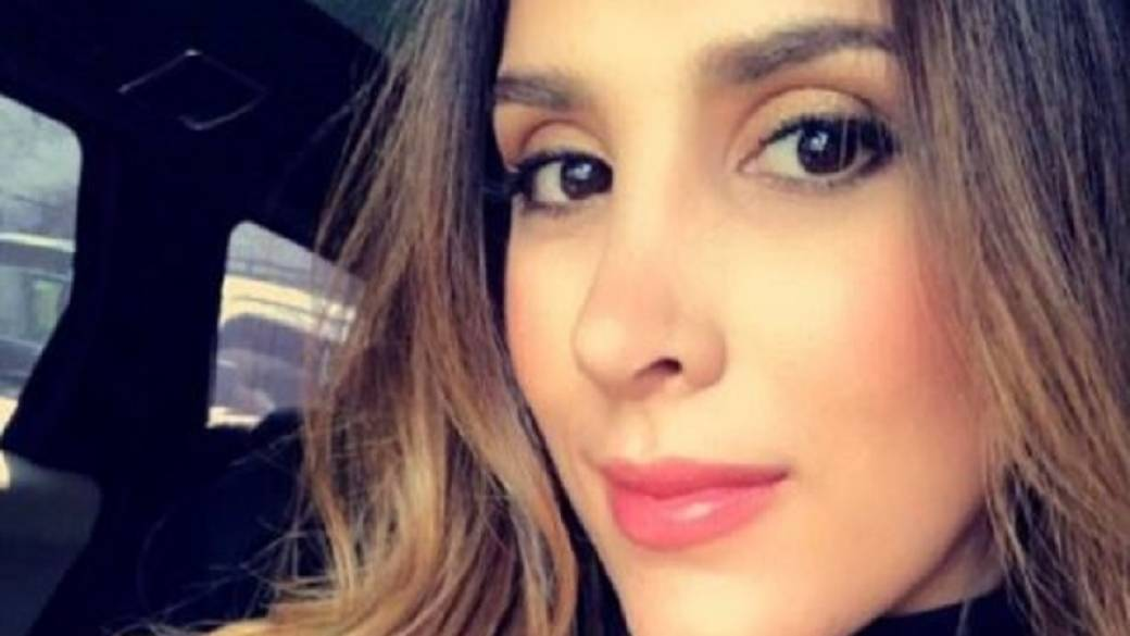 Daniela Ospina desfiló en Colombiamoda