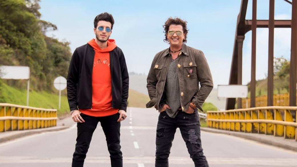 Sebastián Yatra y Carlos Vives, cantantes.