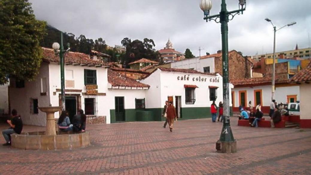 Chorro de Quevedo, centro de Bogotá
