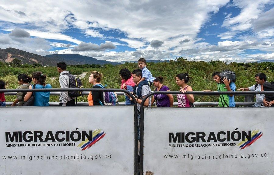 Migración de Venezuela a Colombia