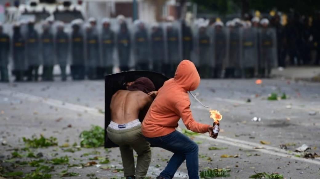 Huelga general en Venezuela.