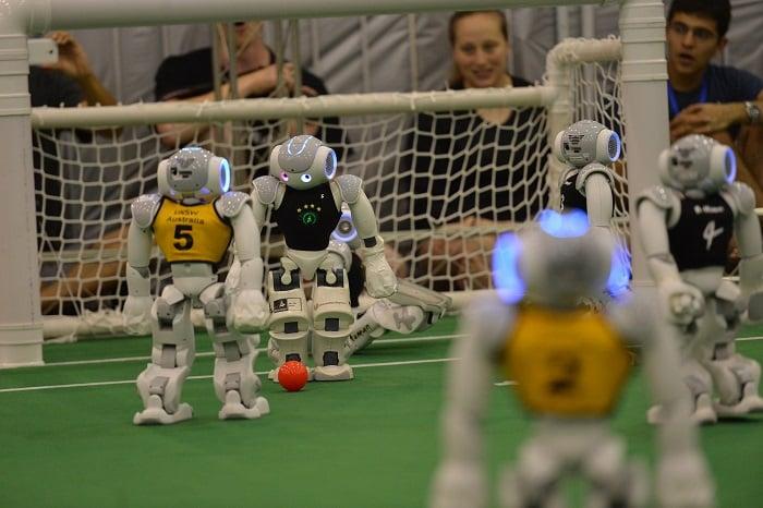 Robots futbolistas