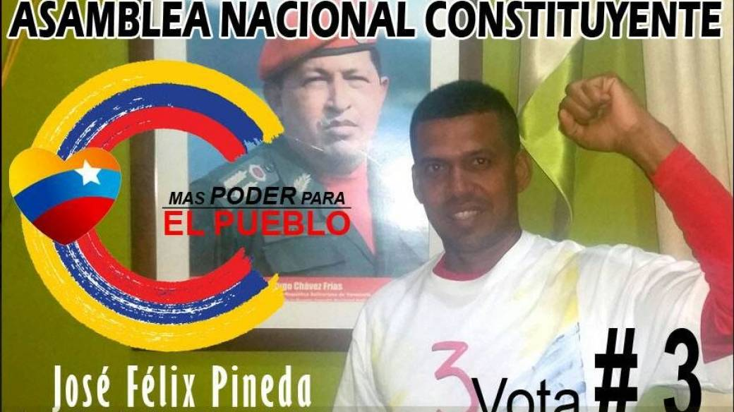 José Félix Pineda, candidato asesinado