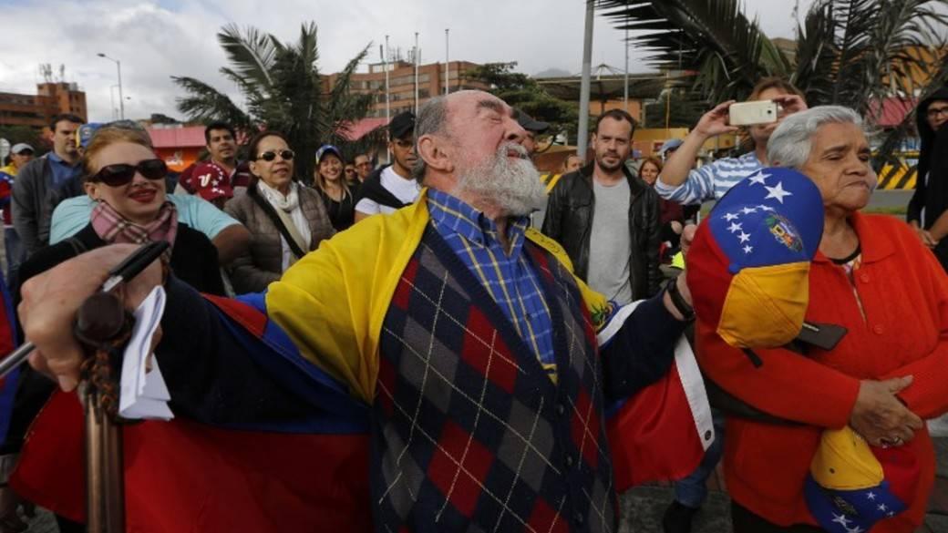 Manifestantes Venezuela