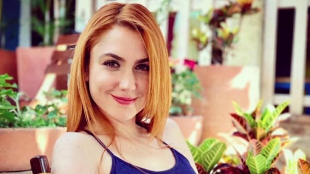 Carolina López. actriz colombiana.