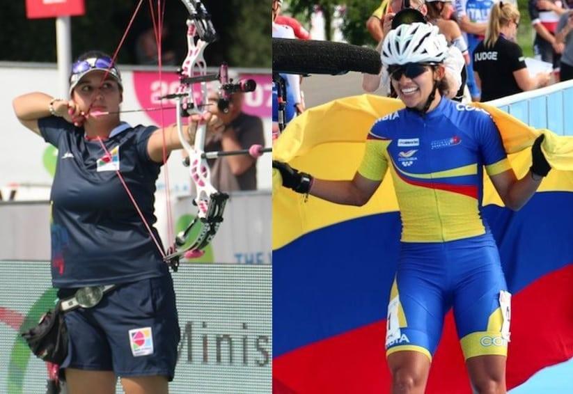 Sara López y Fabriana Arias
