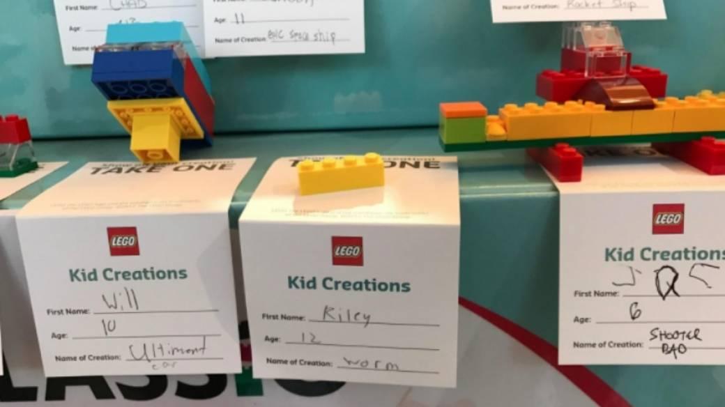 Figuras creadas con piezas de Lego. Pulzo.com