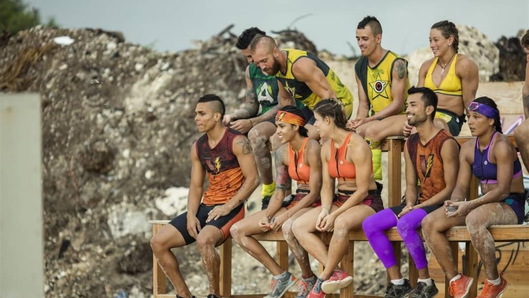 Participantes del 'Desafío Súper Humanos Cap Cana'.