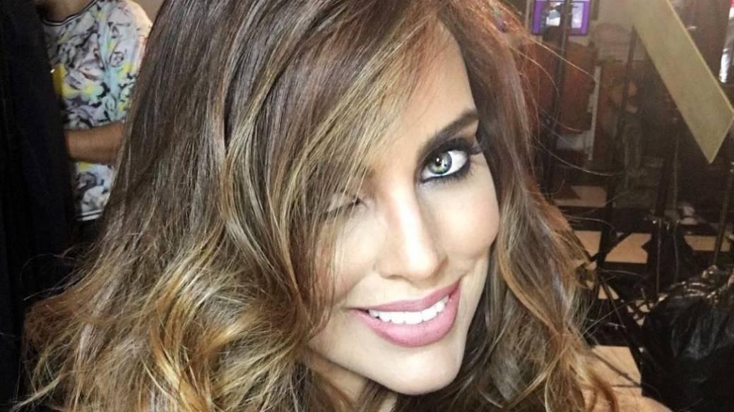 Sara Corrales, presentadora.