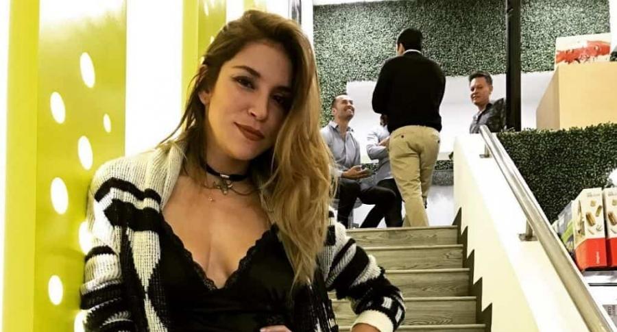 Valentina Lizcano, actriz y exprotagonista de novela.