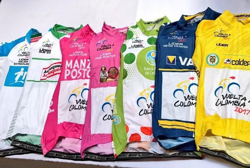 Camisetas de Vuelta a Colombia