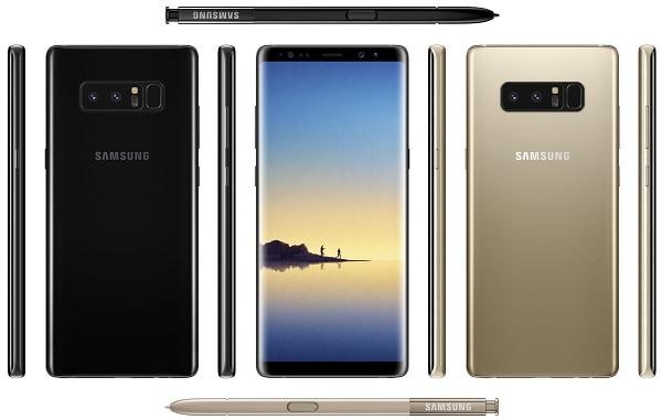 Filtración Samsung Galaxy Note 8