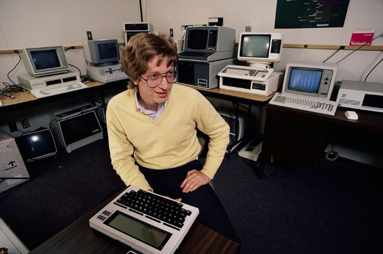 Bill Gates joven