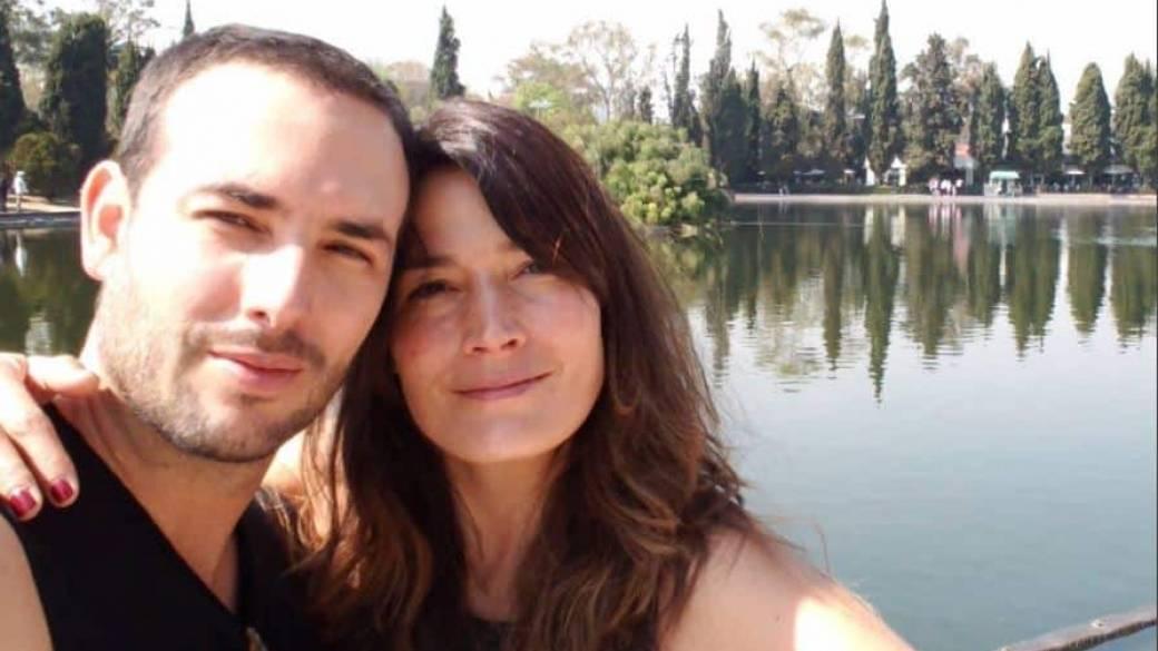 Sebastián Martínez y Kathy Sáenz, esposos y actores.