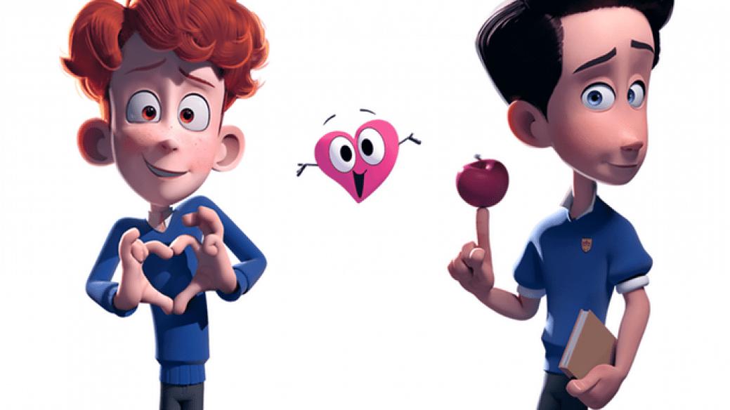 Sherwin y Jonathan, protagonistas de 'In a Heartbeat'. Pulzo.com