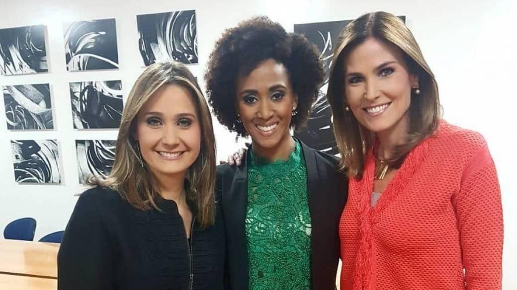 Inés María Zabaraín, Edna Liliana Valencia y María Andrea Vernaza, presentadoras.