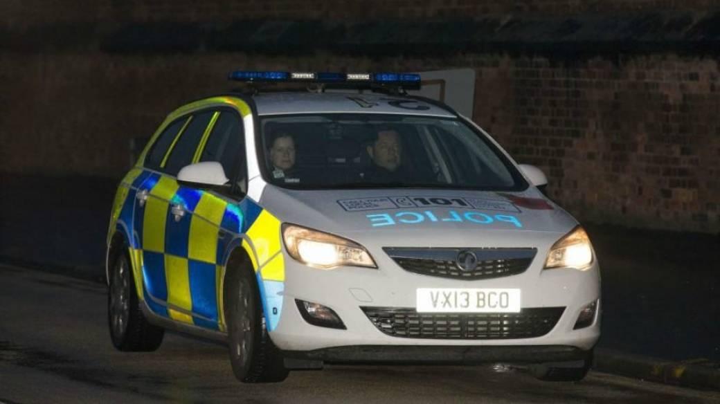 Carro de policía de Inglaterra.