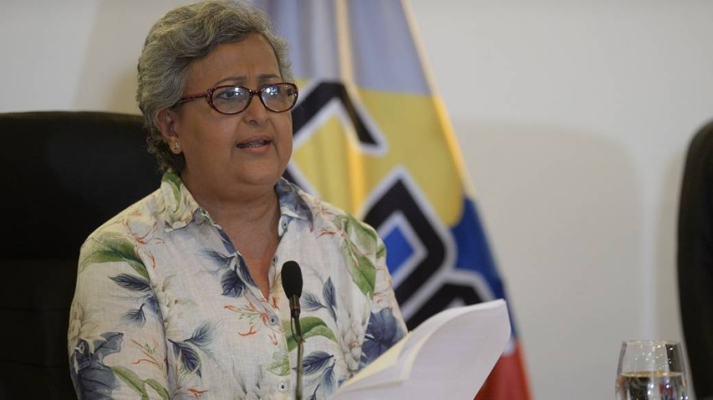 Tibisay Lucena, presidenta del Consejo Nacional Electoral de Venezuela