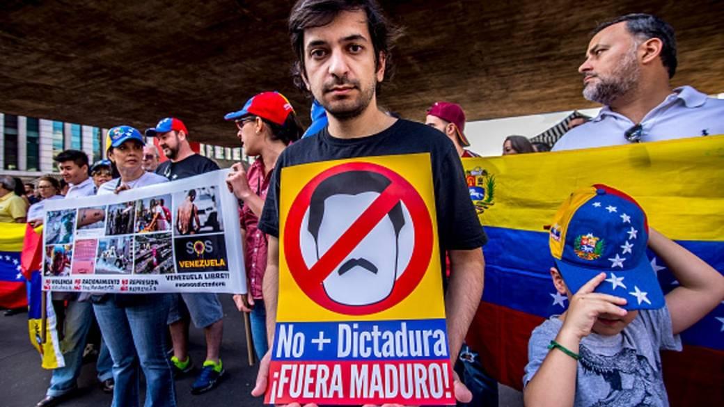 Manifestantes venezolanos Getty