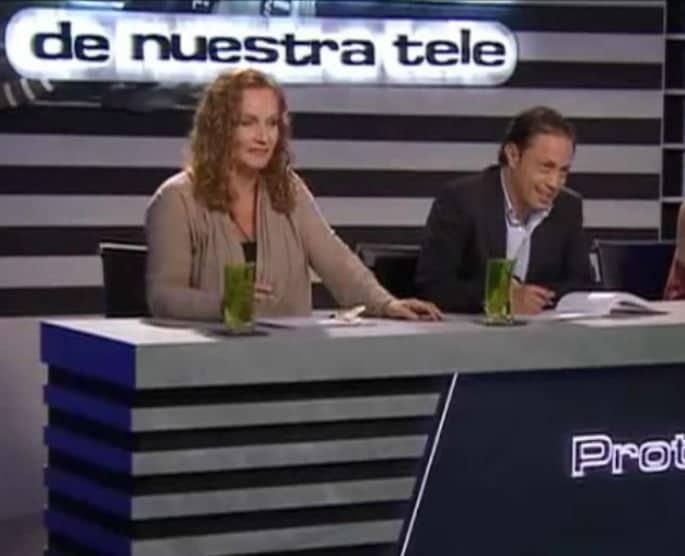Alejandra Borrero, actriz, y Sergio Osorio, director de televisión.