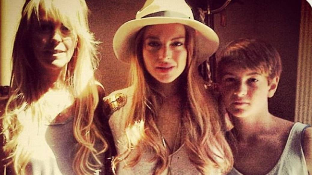 Dina Lohan, Lindsay Lohan y Dakota Lohan