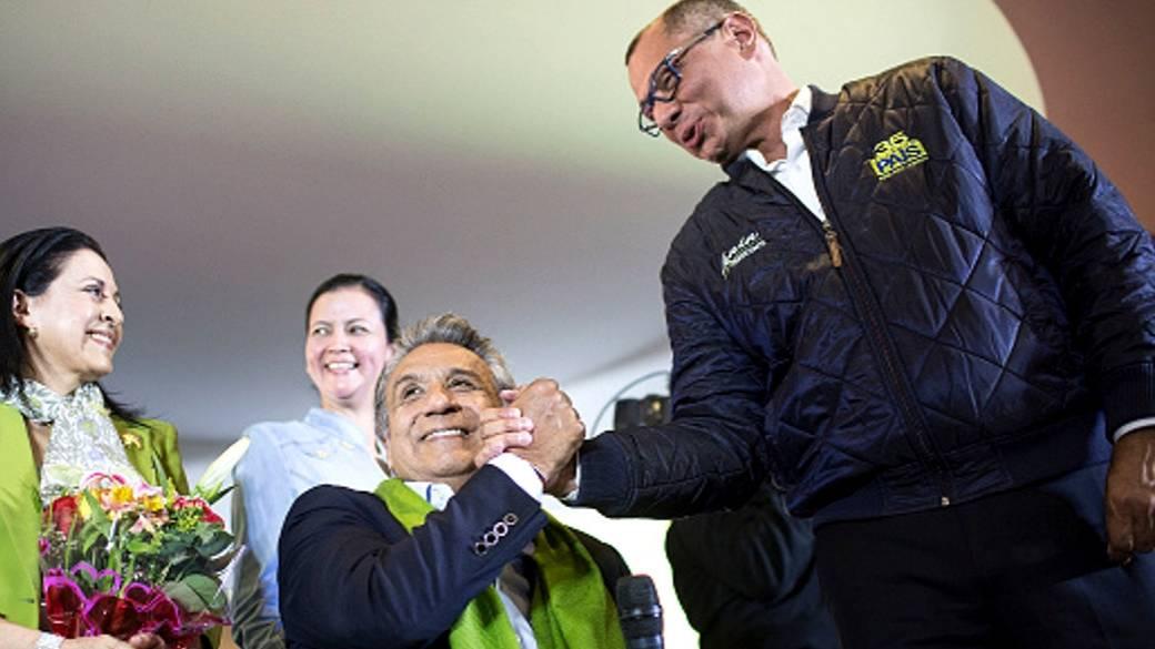 Presidente y vice de Ecuador