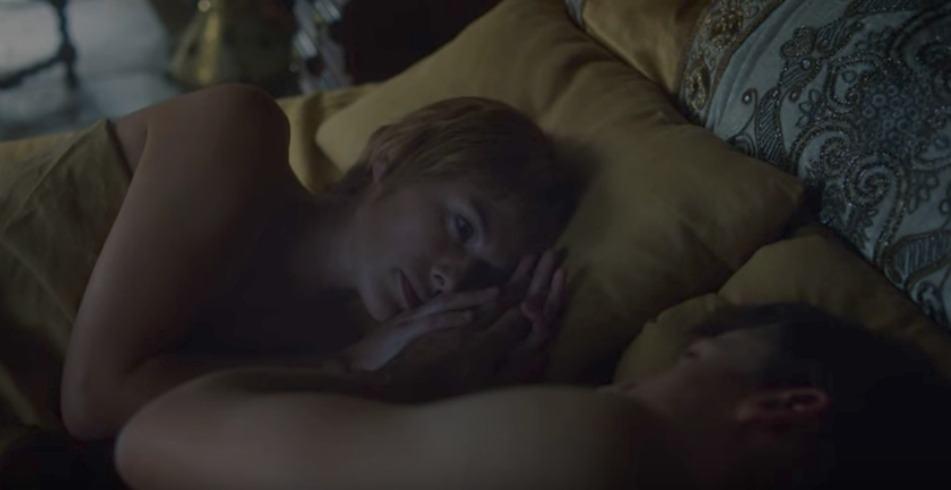 Escena de Cersie y Jaime Lannister 'Game of Thrones'. Pulzo.