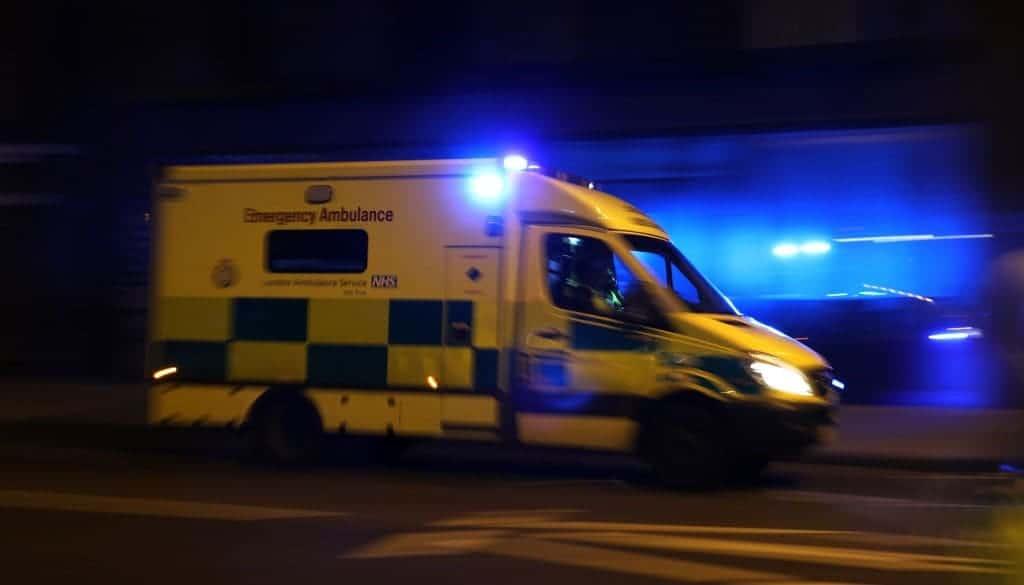 Ambulancia en Londres