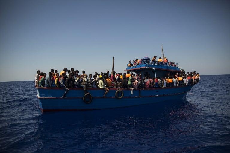 Rescate de migrantes libios. Pulzo.