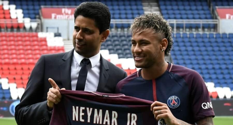 Llegada de Neymar a PSG