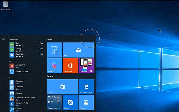 Preview Windows 10