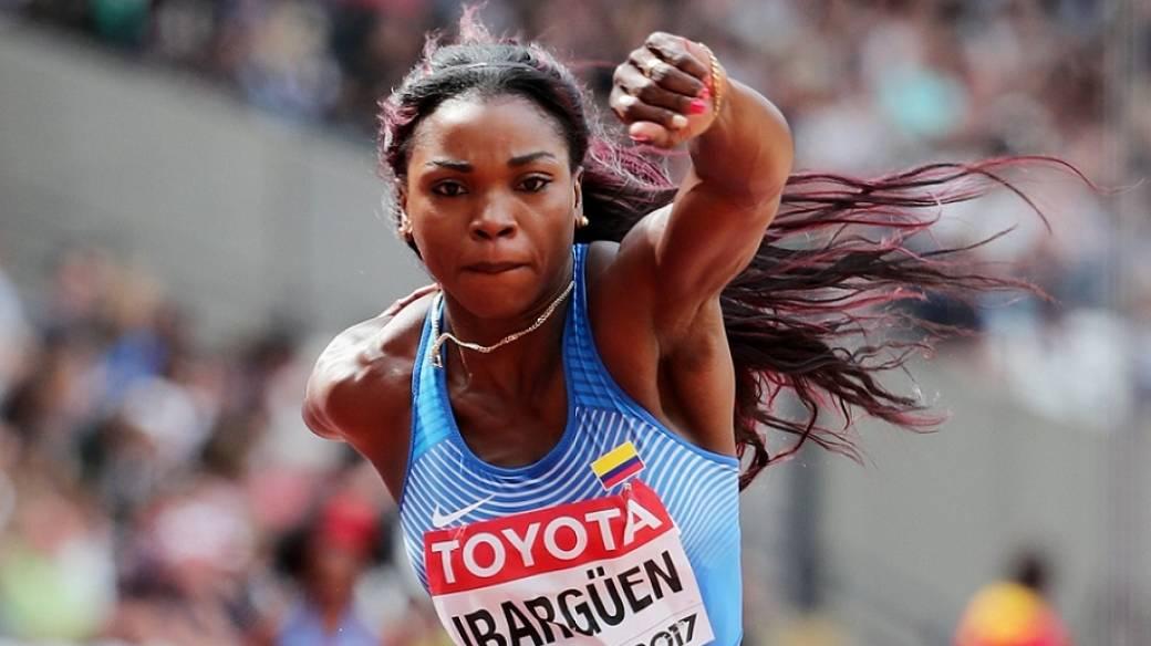 Caterine Ibargüen, atleta.
