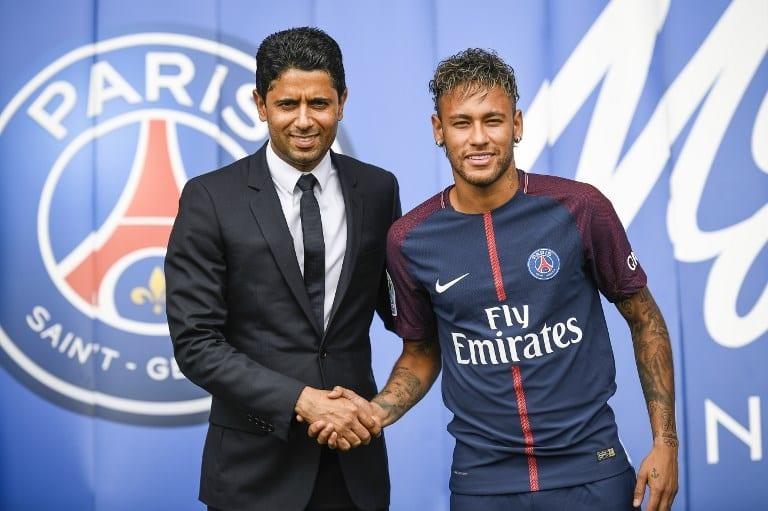 Presentación Neymar en PSG